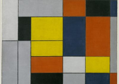 No. VI / Composition No.II 1920 by Piet Mondrian 1872-1944