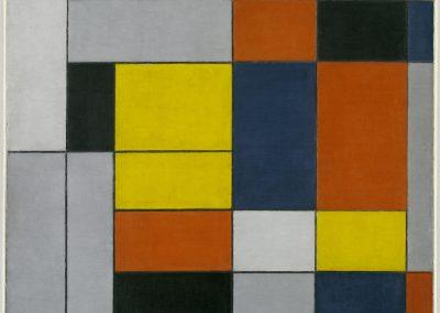 No. VI / Composition No.II 1920 by Piet Mondrian 1872-1944